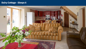 Ayrshire Self Catering - Dairy Cottage Living Room