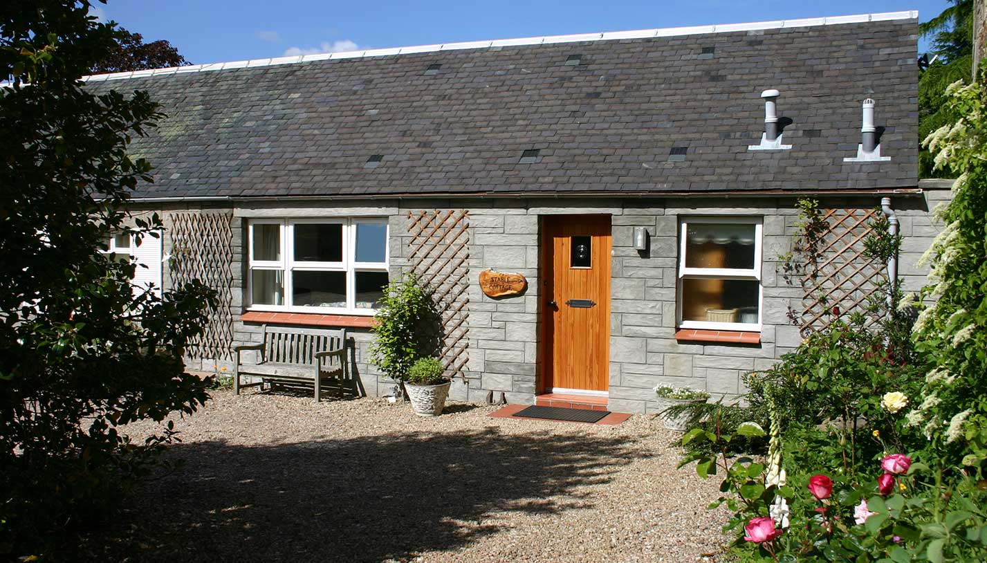 Stable Cottage Exterior of holiday home in Ayr, Ayrshire