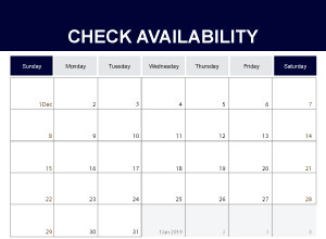 Availability Calendar Checker - Ayrshire Self Catering Accommodation