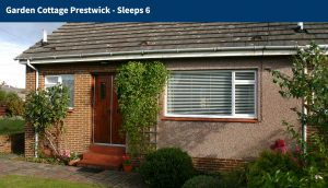 Ayrshire, Prestwick Holiday Accommodation to Rent