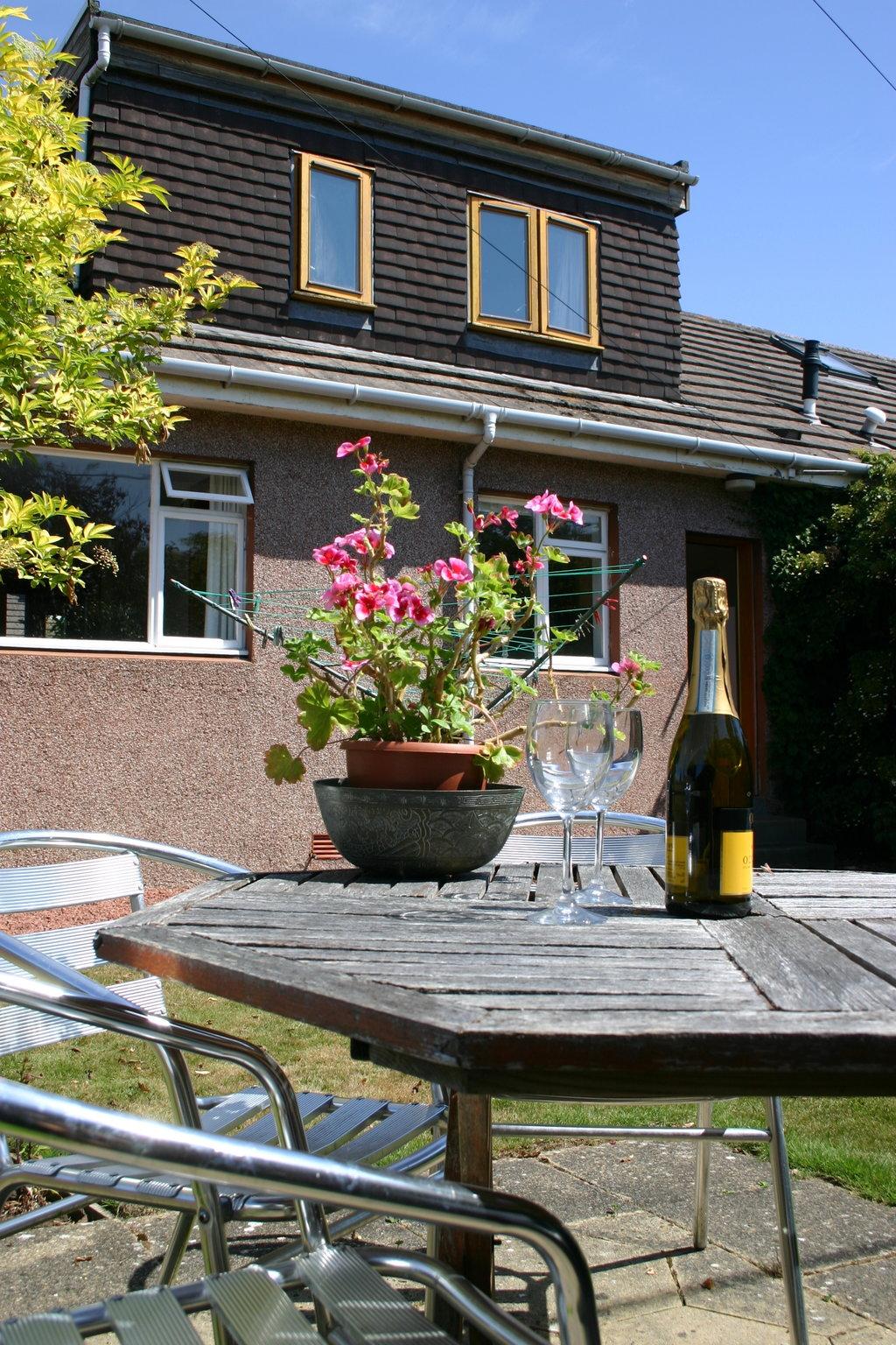 Prestwick back garden