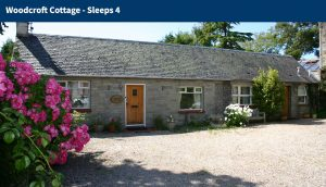 Ayshire Holiday Homes to rent - Woodcroft Cottage