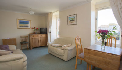 Harbour Side Flat to Rent in Ayr - Lounge Interior Image