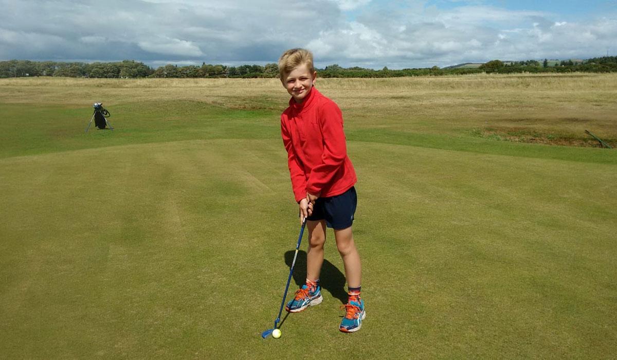 child-golf